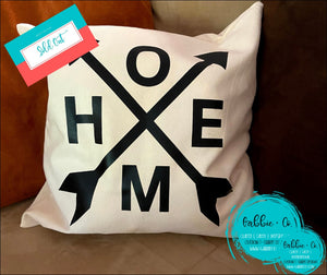 Home Arrow - Pillow Cover