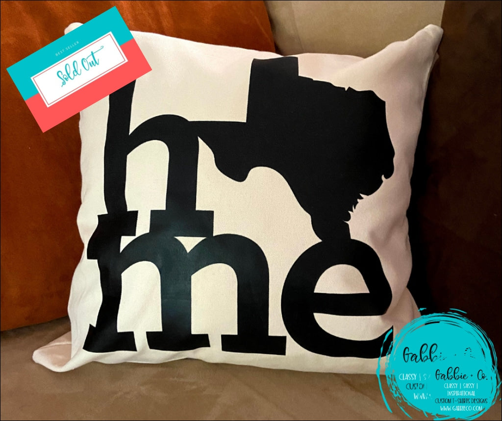 Home Texas - Pillow Cover