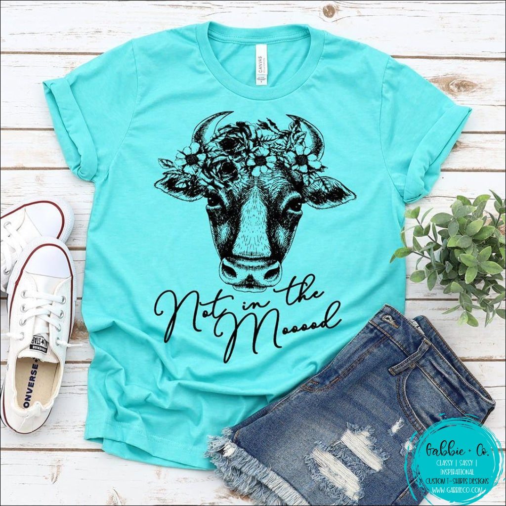 Not In The Moooood Cow T-Shirt