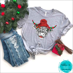 Shaggy Cow Beanie T-Shirt