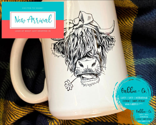 Shaggy Cow Mug