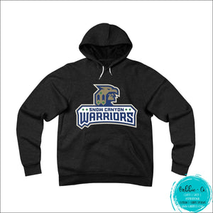 Snow Canyon Warriors. Stay Warm And Show Your Spirit (Unisex Sponge Fleece Pullover Hoodie) Black /
