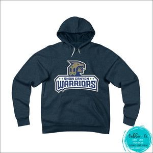 Snow Canyon Warriors. Stay Warm And Show Your Spirit (Unisex Sponge Fleece Pullover Hoodie) Navy / S
