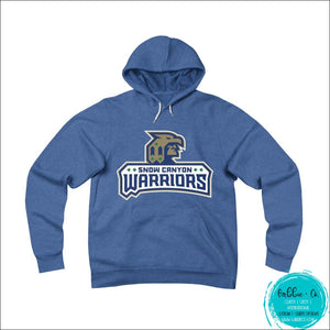 Snow Canyon Warriors. Stay Warm And Show Your Spirit (Unisex Sponge Fleece Pullover Hoodie) True