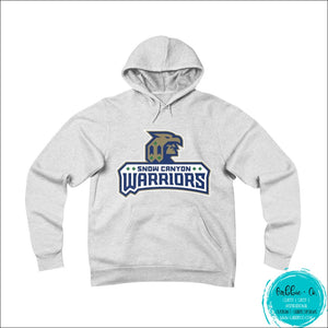 Snow Canyon Warriors. Stay Warm And Show Your Spirit (Unisex Sponge Fleece Pullover Hoodie) White /