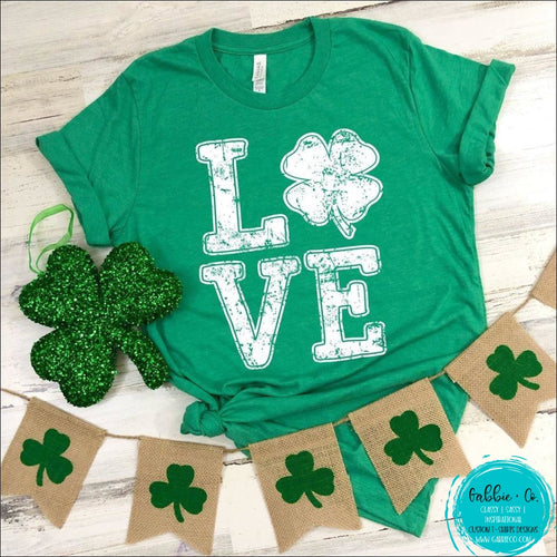 St. Patricks Day T-Shirt ... Love