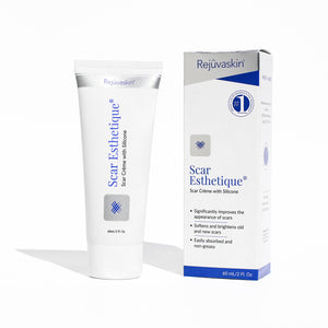 Scar Esthetique Scar Cream with Silicone, Rejuvaskin Silicone Scar Cream