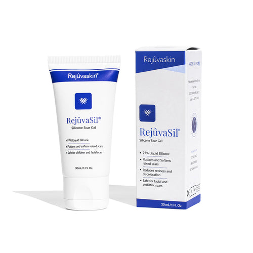 Silicone Scar Gel, RejuvaSil, Scar Management