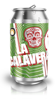 LA CALAVERA - Mexican Lager (12 lattine 0,33cl.)