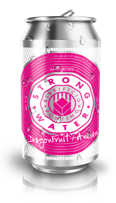 STRONG WATER - Hard Seltzer (12 lattine 0,33cl.)