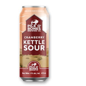 Pile O' Bones Cranberry Kettle Sour – 4 Pack (473ml)