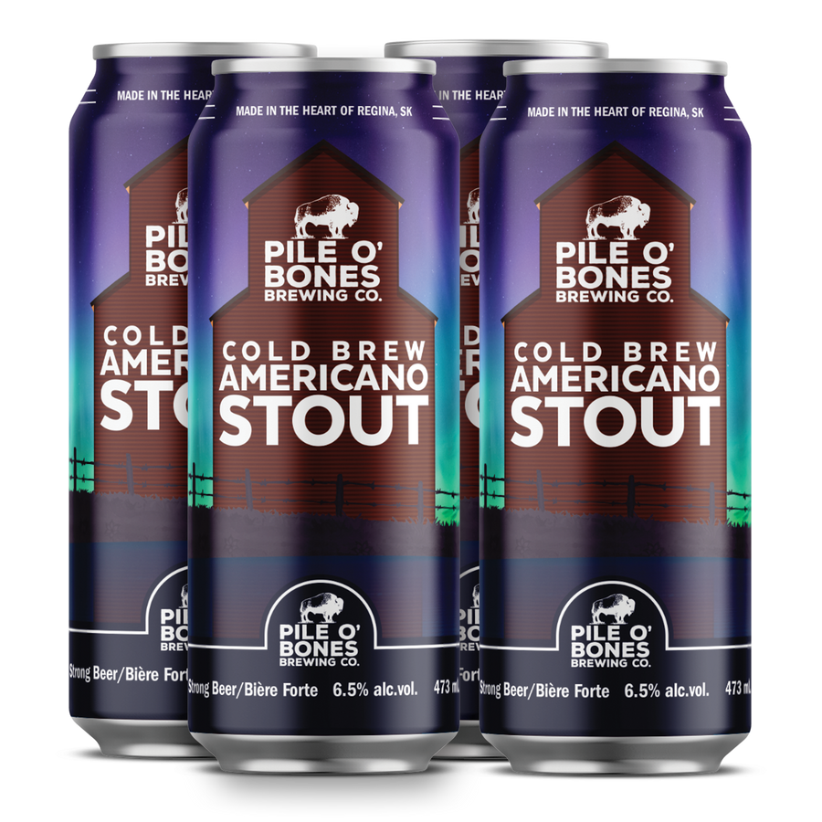 Cold Brew Americano Stout – 4 Pack (473ml)