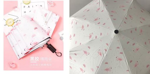 Flamingo Beach Umbrella