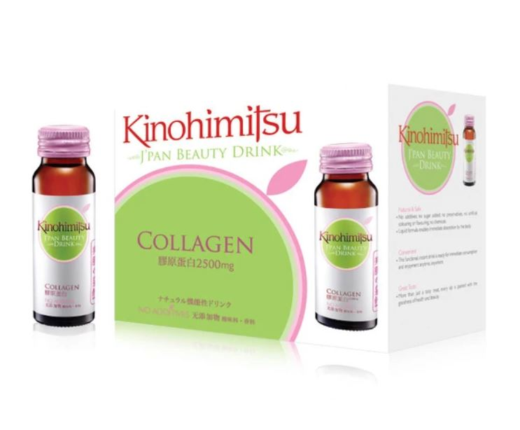 Kinohimitsu J Pan Beauty Drink Collagen 2500mg 6's