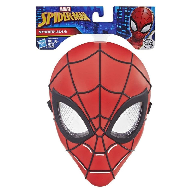 Spiderman Mask Red Black