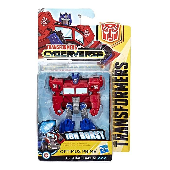 Transformers Cyberverse Ion Burst Optimus Prime