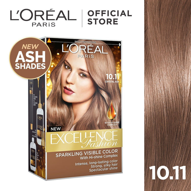 L'Oréal Excellence Fashion Hair Color 10.11 Crystal Ash 172ml