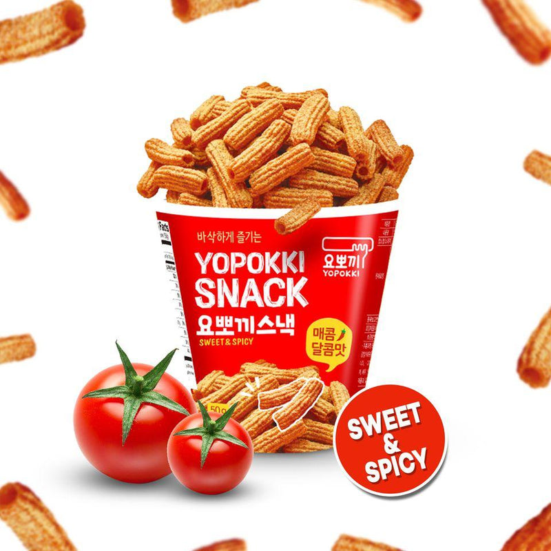 Yopokki Sweet and Spicy Snack 50g