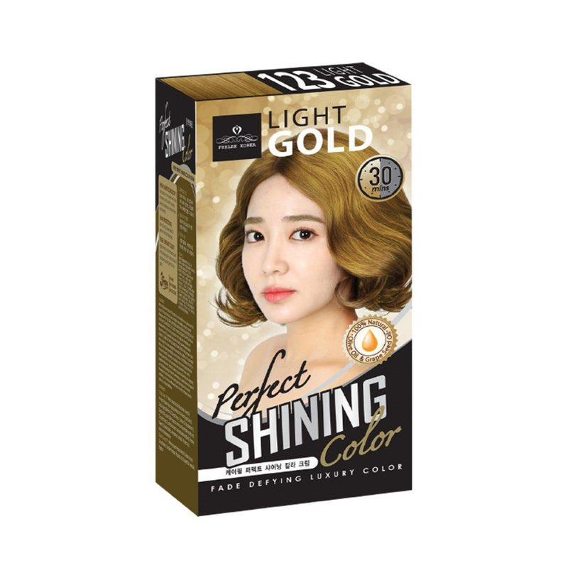 Perfect Shining Hair Colour No123Light Gold 60 Ml