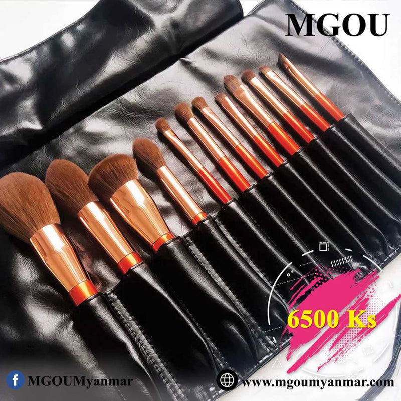 12 sets of cosmetic brushes