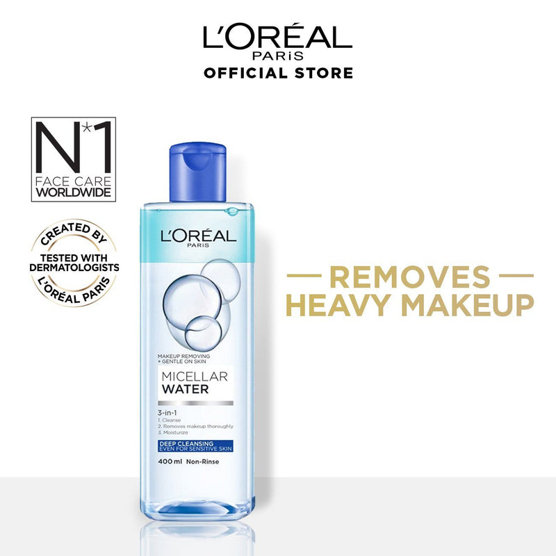 L'Oréal Micellar Water Bi Phase Makeup Remover 400ml