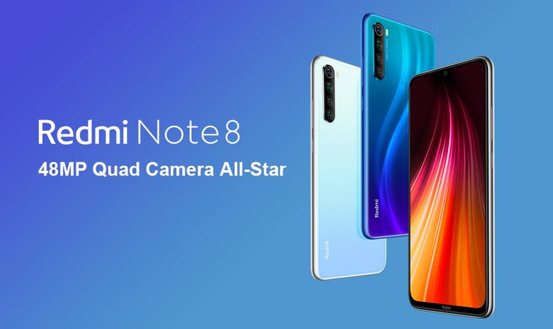 "Redmi Global Version 6.3"" Note 8 (4/64GB)"