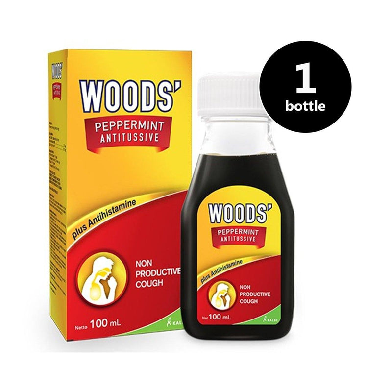 Woods' Peppermint Antitussive (100ml) (4513930903670)
