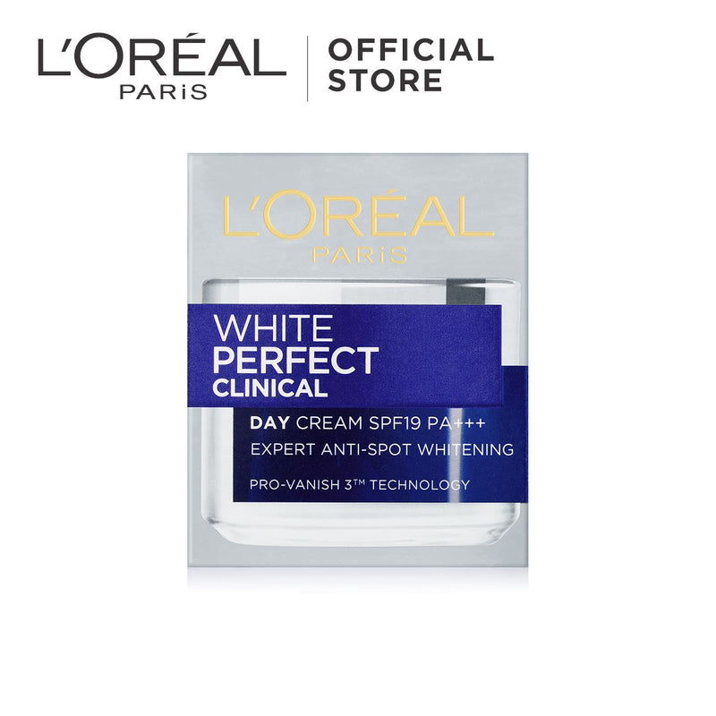 L'Oréal White Perfect Whitening Clinical Day Cream SPF19 PA+++ 50ml