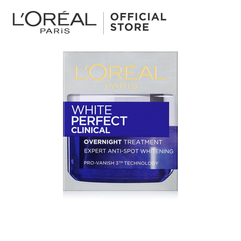 L'Oréal White Perfect Whitening Clinical Over Night Treatment 50ml