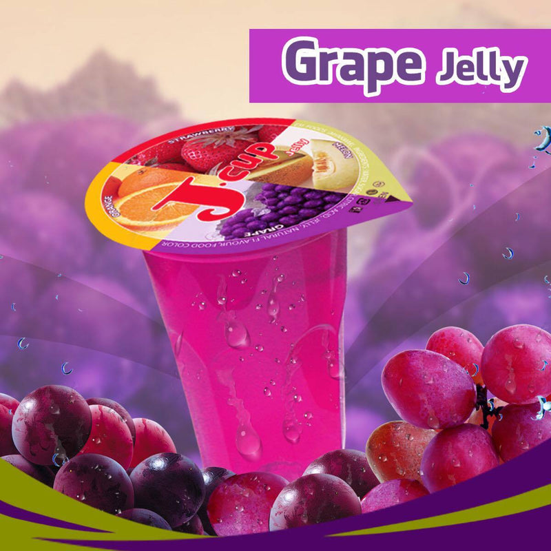 J-cup Grape Jelly (10 cups) (4520002125942)