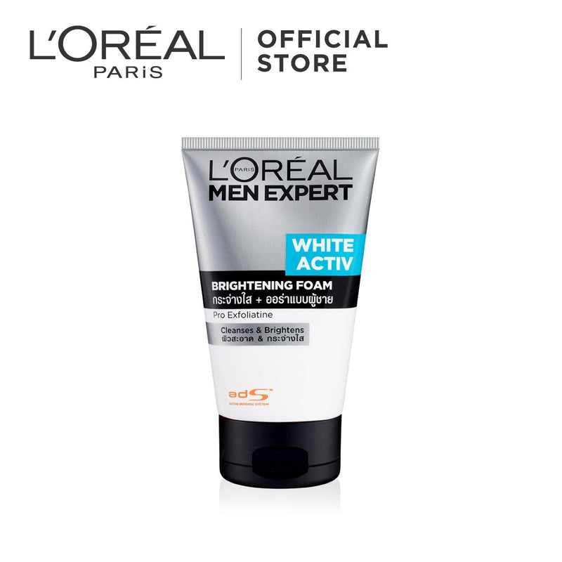 L'Oréal Men Expert White Activ Brightening Foam 100ml