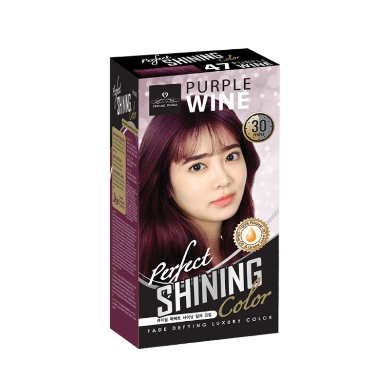 Perfect Shining Hair Colour No47 Purple Wine 60 Ml
