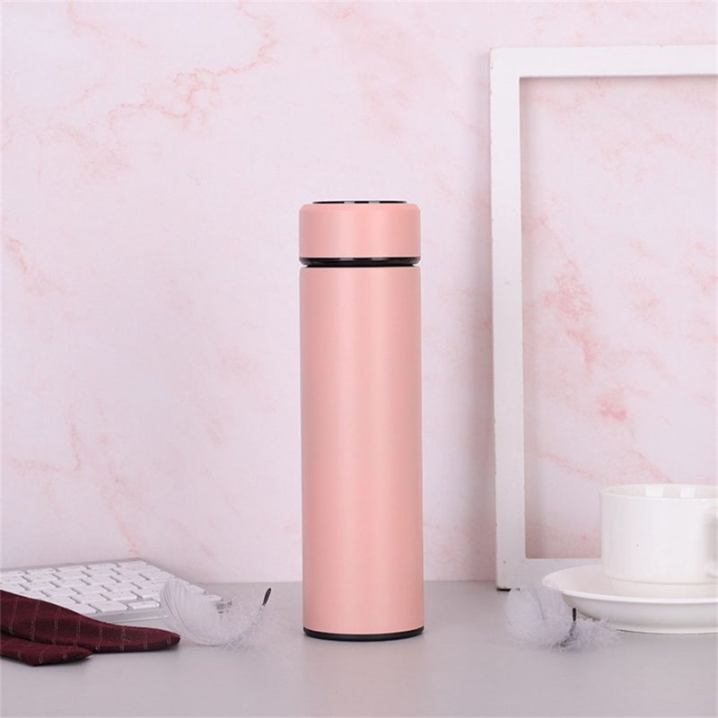 Portable Intelligent Vacuum Flask With Temperature Display (480ml) (4480332988534)