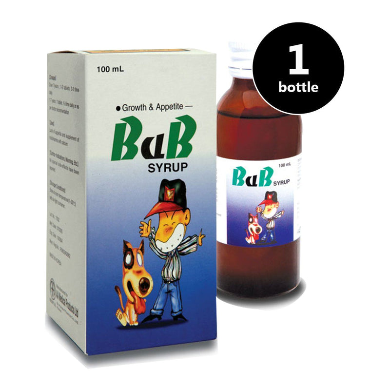 BaB Syrup (1 bottle of 100ml syrup) (4513830568054)