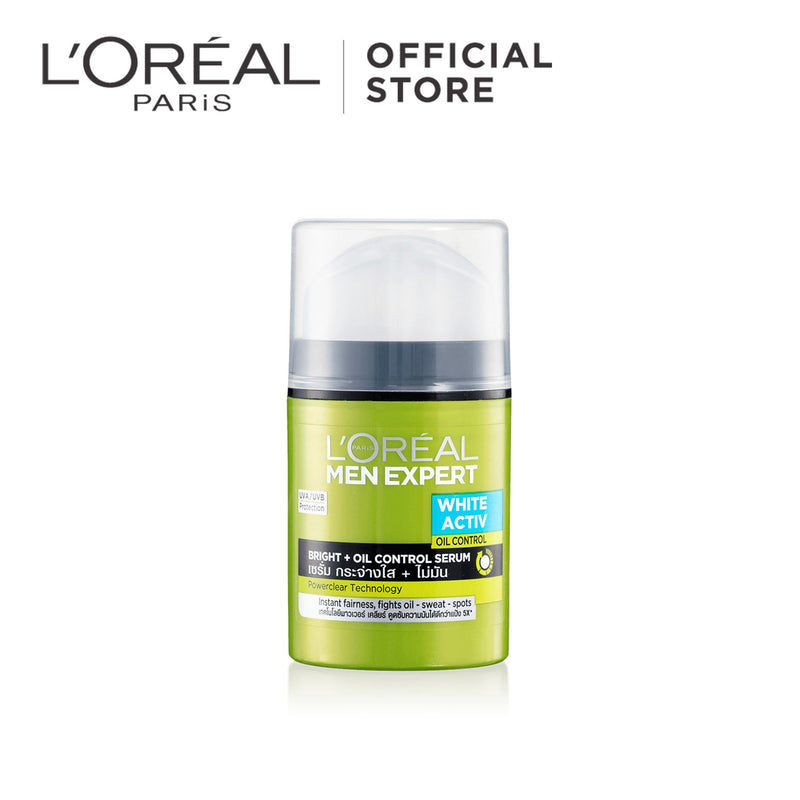 L'Oréal Men Expert White Active Brightening & Oil Control Gel 50ml