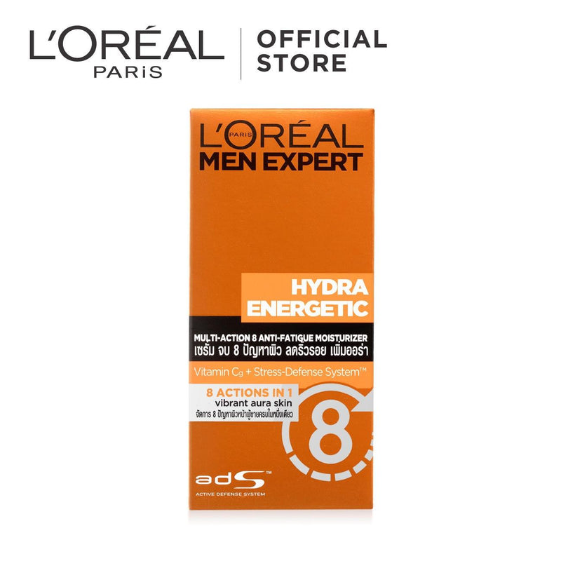 L'Oréal Men Expert Hydra Energetic Multi Action 8 Moisturizer 50ml
