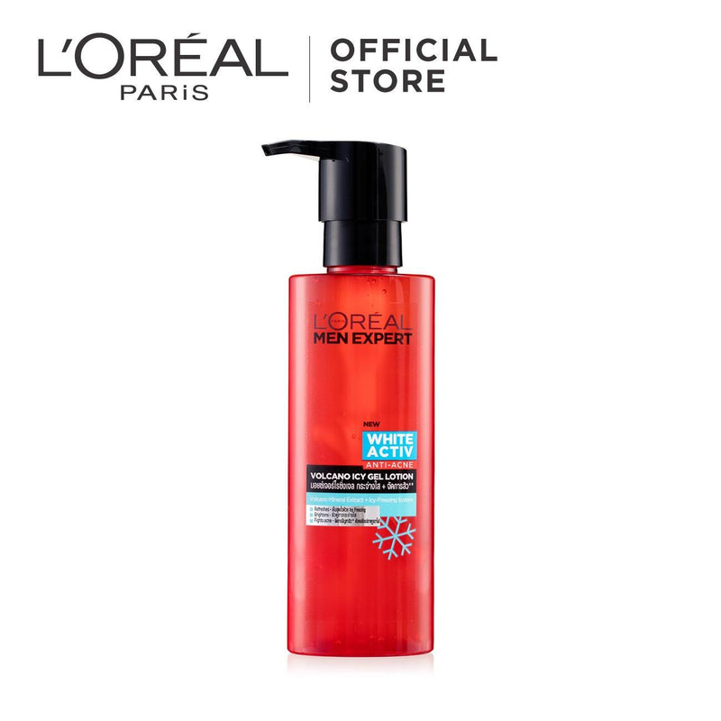 L'Oréal Men Expert White Active Anti-Acne Volcano Icy Gel Lotion 120ml
