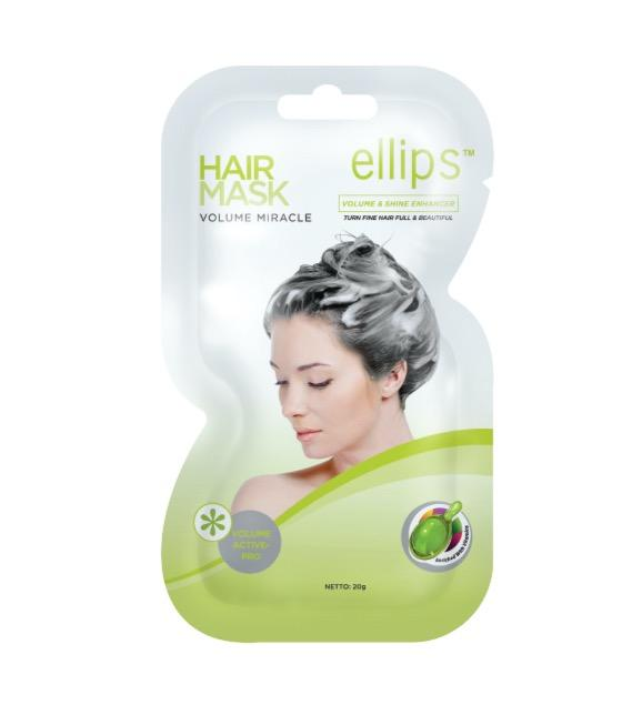 Ellips Volume Miracle For Fine Hair And Less Fluffy Hair Mask