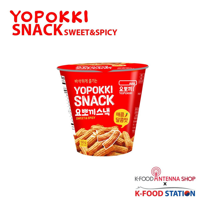Yopokki Sweet & Spicy Snack 50g