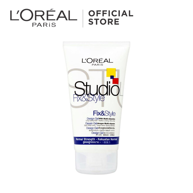 L'Oréal Studio Hair Gel Fix & Style : Normal Strength 150ml