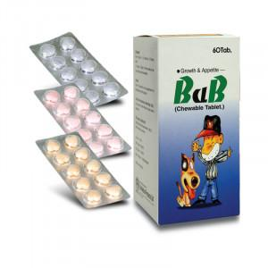 BaB Tablet (2 cards of 10 chewable tablets, total 20 tablets) (4513871593590)