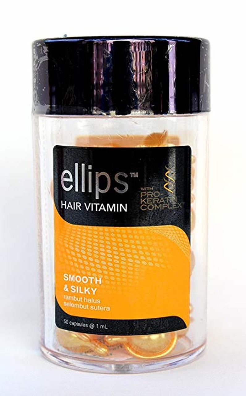 Ellips Smooth Silky Fine Hair Soft As Silk 50 Capsules Jar