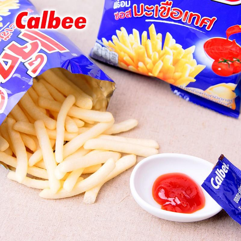 Calbee Potato French Fries Snack with Tomato Sauce 55g