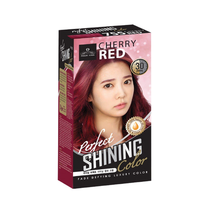 Perfect Shining Hair Colour No(755) Cherry Red 60ml