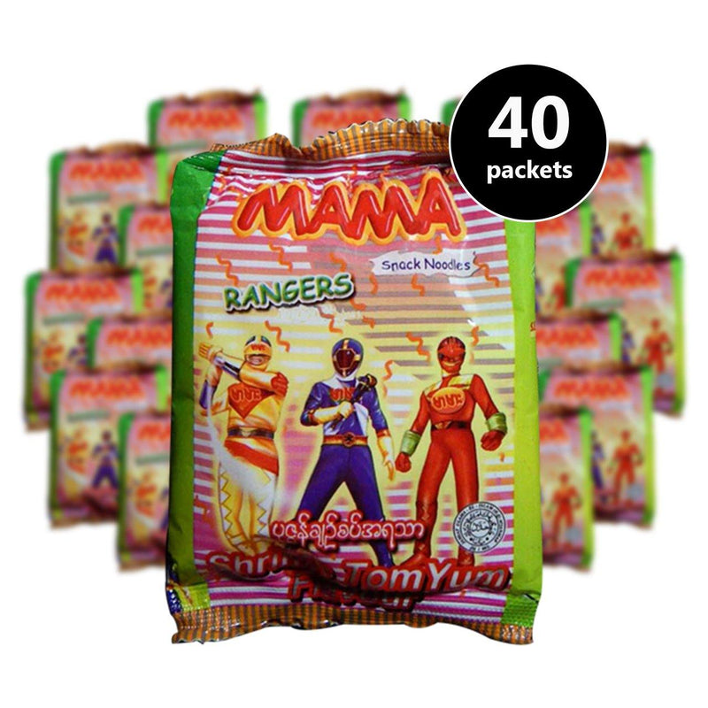 MAMA-Ranger Shrimp Tom Yum (15g) (40 pcs) (4487306018934)