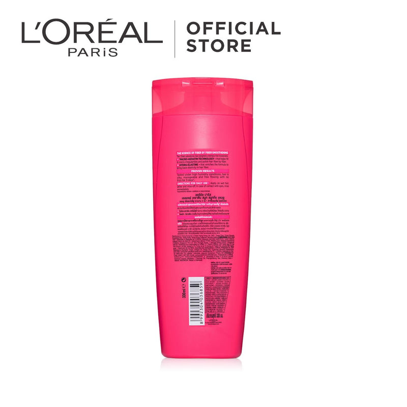 L'Oréal Keratin Smooth Rough, Unmanageable Hair Shampoo
