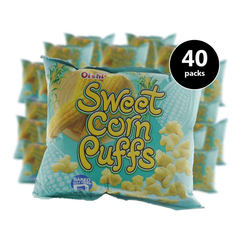 Oishi Sweet Corn (8g) (40 pcs) (4487307526262)