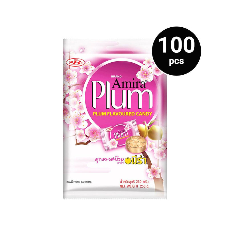Amira Makam Plum Candy 250g (1 pack, 100 pcs)