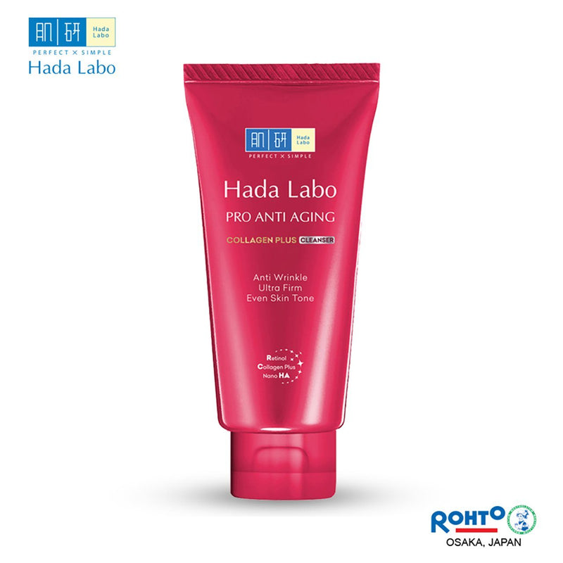 Hada Labo Pro Anti Aging Collagen Plus Cleanser 80g