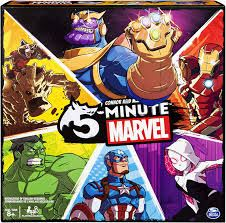 5-Minute Marvel Board Game